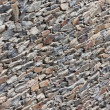 Wall from natural rocks — Stock Photo