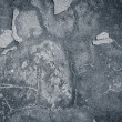 Dark edged gray plaster background — Photo