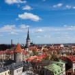 View on the old town of Tallinn — Stock Photo