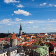 Stock Photo: View on the old town of Tallinn