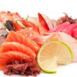 Assorted Sashimi great. — Stock Photo