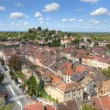 Stock Photo: Aerial of Cremieu from Saint-Hippolyte Hill