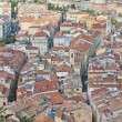 Rooftops and Streets of Nice — Stock Photo