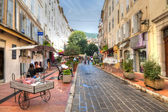 Shopping in Grasse France — Stock Photo