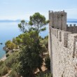 Lake Trasimeno from Fortress at Castiglione del Lago — Stock Photo #11099602
