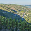 Stock Photo: Rhone River Valley near Vienne