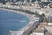 Parasailing Adventure at Nice France — Stock Photo