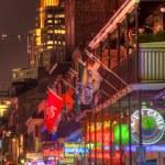 Bourbon Street Neon Lights — Stock Photo