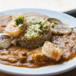 Gumbo with Chicken, Seafood & Sausage — Stock Photo #11968694