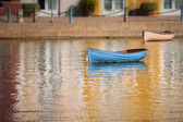 The Blue Boat — Stock Photo