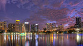 Orlando Skyline at Twilight — Stock Photo