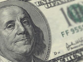 Hundred Dollar Bill — Стоковое фото