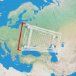 Stock Photo: Shopping Cart Over the World