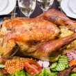 Thanksgiving turkey — Stockfoto #10736068