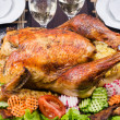 Stock Photo: Thanksgiving turkey