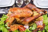 Thanksgiving turkey — Stock Photo