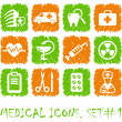 Pharma and Healthcare icons — Stock Vector #11165972