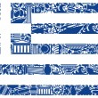 Flag of Greece — Stock Vector #11537798