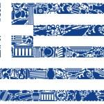 Flag of Greece — Stock Vector #11537798