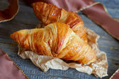 French croissants Crescents — Stockfoto