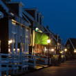 Stock Photo: Evening view of historic Dutch village Marken