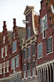 Monumental canal houses in The Netherlands — Stock Photo