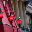 The Red Light District in Amsterdam — Stock Photo