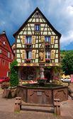 Kaysersberg , Alsace (Fr) — Stockfoto