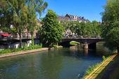 Petite France in Strasbourg — Zdjęcie stockowe