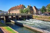 Petite France in Strasbourg — Stock Photo