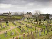 Scottish Cemetery in Stirling (Scotland) — 图库照片