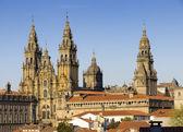 Cathedral of Santiago de Compostela in Galicia, Spain. — Stock Photo
