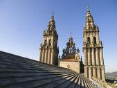 Santiago de Compostela, Spain on october 19, 2008. Santiago de C — Stock Photo