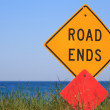 Road Ends — Stock Photo #10995374