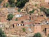 Berber village in Atlas, Morocco — Stock Photo