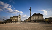 King Sigismund's Column in Warsaw — Foto Stock