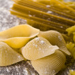 Various types of pasta — Foto Stock