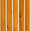 Wooden planks fence - Stock Photo