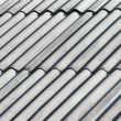 Old gray asbestos roof — Stock Photo