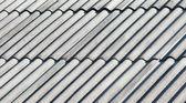 Techo de asbesto gris antiguo — Foto de Stock