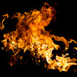 Stock Photo: Hot fire splash