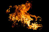 Hot fire splash — Stock Photo