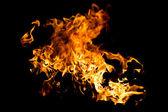 Hot fire splash — Stock Photo