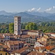 Lucca panoramic view, Tuscany, Italy — Foto de Stock