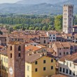 Lucca panoramic view, Tuscany, Italy — Stock Photo