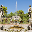 Pfanner Palace gardens, Tuscany, Italy - Stock Photo