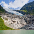 Boyabreen (Bøyabreen) Glacier, Norway — Stock Photo