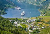 Geiranger Fjord, Norway — Stock Photo
