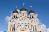 Alexander Nevsky Cathedral, Tallinn, Estonia — Stock Photo