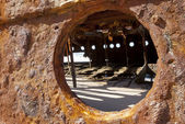 Maheno shipwreck, Fraser Island, Australia — Stock Photo